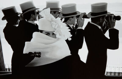 Frank Horvat, 'Givenchy Hat C, For Jardin Des Modes, Paris', 1958; printed later