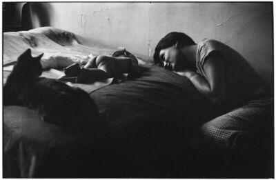 Elliott Erwitt, '5. New York City. (Mother & baby)', 1953