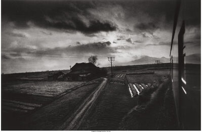 W. Eugene Smith, 'Landscape from a Moving Train, Japan', 1961