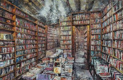 Massimo Giannoni, 'Interno di libreria', 2019