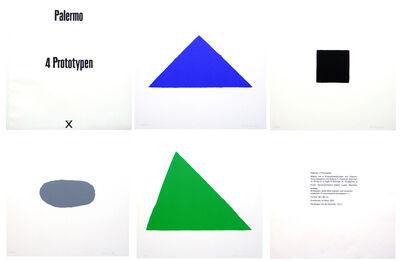 Blinky Palermo, '4 Prototypen', 1970