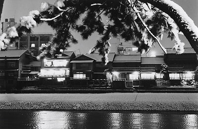 Kiichi Asano, 'Untitled - Houses at Night', c1958
