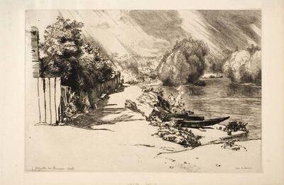 Félix Bracquemond, 'La Seine au bas Meudon', 1868