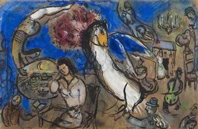 Marc Chagall, 'Le cheval ailé', 1939-1943