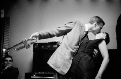 Herman Leonard, 'Gerry Mulligan, Carnegie Hall, New York', 1953