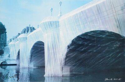 Christo Vladimiroff Javacheff, 'Le pont-neuf'