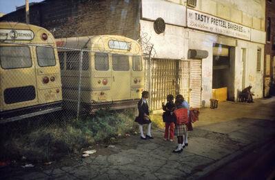 Meryl Meisler, 'Tasty Pretzel Bakeries Starr Street, Bushwick, Brooklyn, NY October 1983', 1983