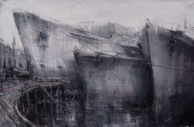 Alessandro Papetti, 'Cantiere navale', 2013