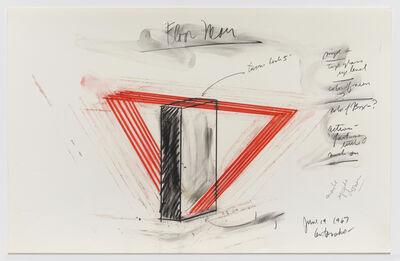 Stephen Antonakos, 'Floor Neon', 1967