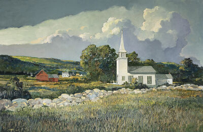 Eric Sloane, 'A Country Church', Date Unknown