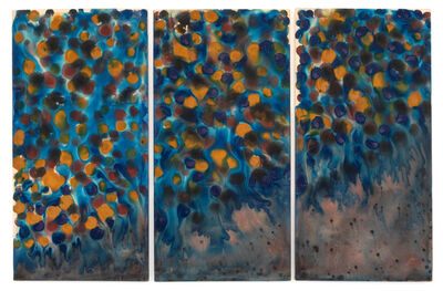 Kenneth Victor Young, 'Triptych Miles Davis', 1972