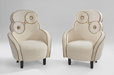 "Hubert Le Gall, 'Pair of ""Maxou""Chair', 2018"
