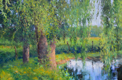 Thomas McNickle, 'WILLOW POND-SUMMER GREENS', 2020