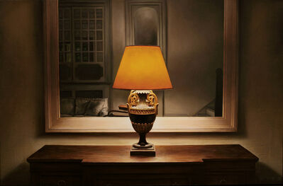 Dan Witz, 'Park Avenue Lobby Lamp (Annunciation)', 2010