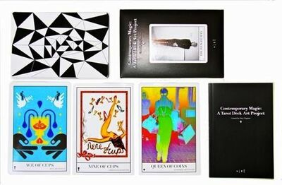 "Various Artists, 'Full Collection of ""Contemporary Magic: A Tarot Deck Art Project"" Limited Edition 5th Anniversary Print Collection, Including 78 Framed Prints, 2015 