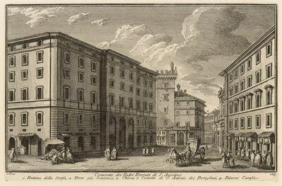 Giuseppe Vasi, 'Convento, dei Padri Eremiti di S. Agostino', 1747-1801