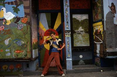 Philip Pocock, 'History of Art (E. 4th St. Ave. A B)', 1980