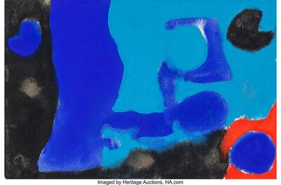 Patrick Heron, 'Untitled (Blue Form)'