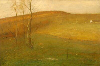 J. Francis Murphy, 'Autumn Hillside', 1905