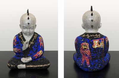 Metis Atash, 'PUNKBUDDHA MOONWALK feat. WARHOL', 2019