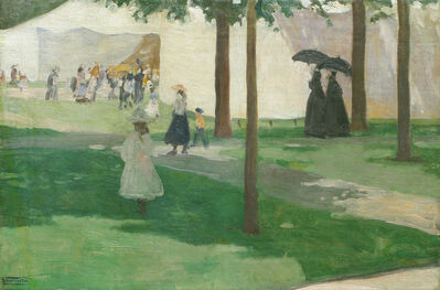 Charles Hopkinson, 'Ladies on the Lawn', ca. 1895-1905
