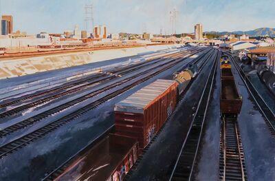 Patricia Chidlaw, 'Freight Train in Shadow', 2013
