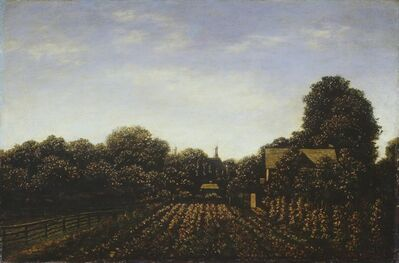 Ralph Albert Blakelock, 'The Artist's Garden', ca. 1879/1889