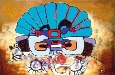 Aubrey Williams, 'Quetzalcoatl III (Olmec-Maya and Now)', 1984