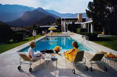 Slim Aarons, 'Poolside Glamour, Palm Spring, California'