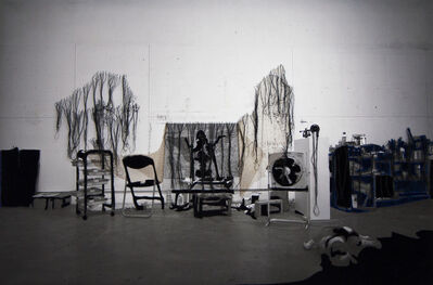 Berend Strik, 'Decipher the Artist's Mind: Reading (studio Agus Suwage)', 2013