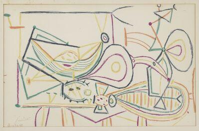 Pablo Picasso, 'Untitled: Vallauris 7.10.1948', 1948