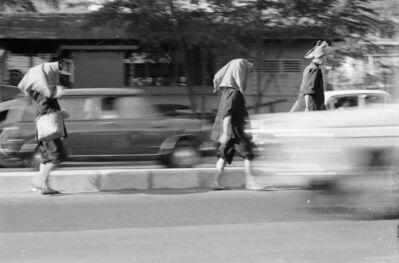 Loke Hong Seng, 'Samsui Women Walking As If On Wings', 1970