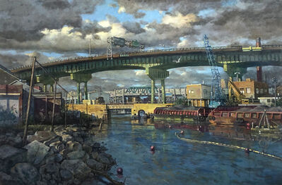 Derek Buckner, 'View of Ninth Street Bridge, Afternoon'