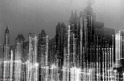 Julian Wasser, 'Central Park South in Winter'