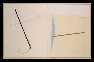 Eduard Steinberg, 'Composition, November Paris', 1993