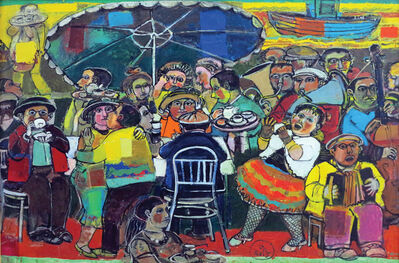 "Sarkis Hamalbashian, '""Outdoor Café"" / ""Gazino""', 2015"