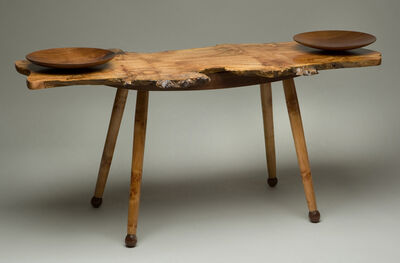 Lynda Smith-Bugge, 'Burled Coffee Table with Bowls', 2014