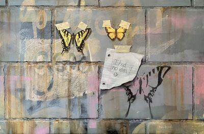 Myron Stephens, 'Swallowtails on Cinderblocks', 2020