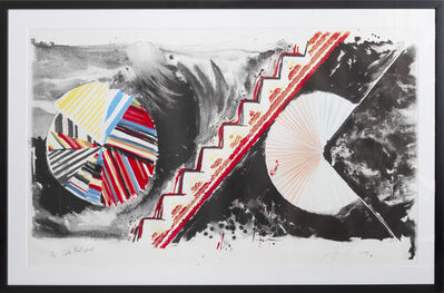 James Rosenquist, 'Alphabet Avalanche', 1979