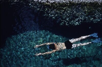 Ernst Haas, 'The Swimmer, Greece', 1972