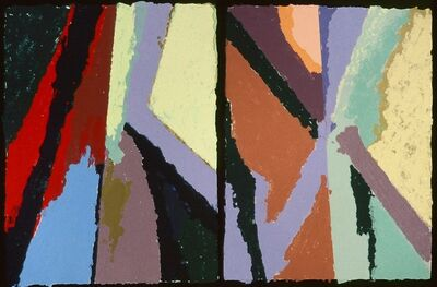 Jane Eccles, 'Chimayo (diptych)', 1990