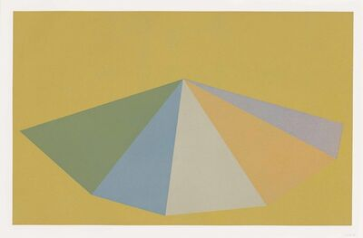 Sol LeWitt, 'Plate 3, from: Pyramids', 1987