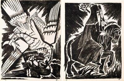 Natalia Goncharova, 'Misticheskie Obrazy Voiny [Mystical Images of War]', 1914