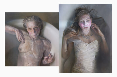 Margaret Bowland, 'Goddess Series:  Mother and Bride (Diptych)', 2019