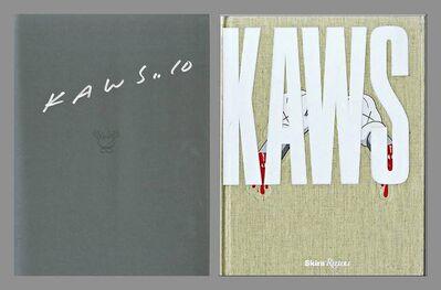 KAWS, 'KAWS - Hand Signed Monograph', 2010