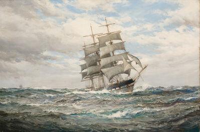Montague Dawson, 'In Pursuit'