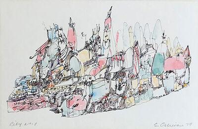Samia Osseiran Junblat, 'City NO. 1', 1970