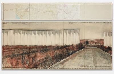 Christo and Jeanne-Claude, 'Running Fence (Project for Sonoma County and Marin County,  State of California)', 1976
