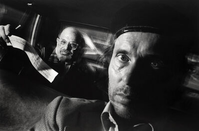 Ryan Weideman, 'Self-Portrait with Passenger Allen Ginsberg', 1990