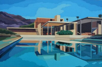 Andy Burgess, 'Kaufman House Cinematic View, Palm Spring', 2016